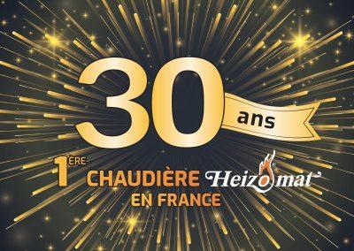 30 ANS de la 1ère chaudière bois en France
