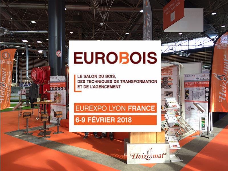 Salon EUROBOIS chauffage menuiseries